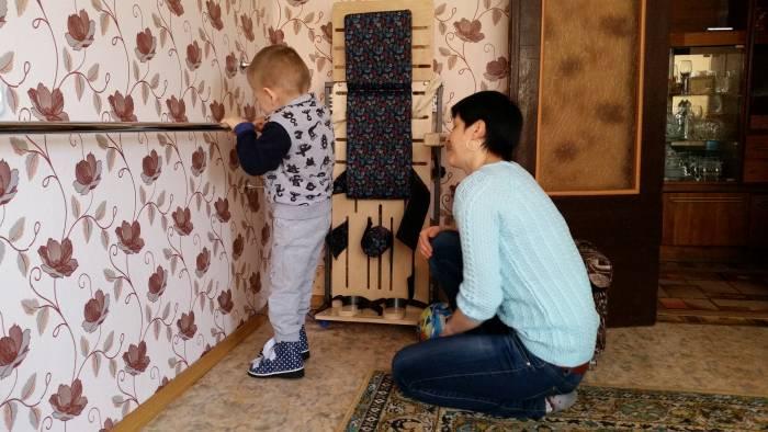 Мама Димы радуется каждому достижению своего сыночка! Фото: Аля Покровская