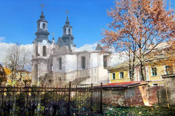 фотопроекции, Борисенков, храм
