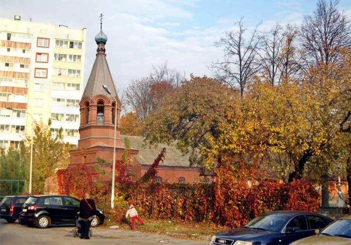 борисенков, фотопроекция, храм