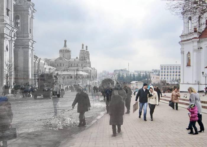 борисенков, фотопроекция, война