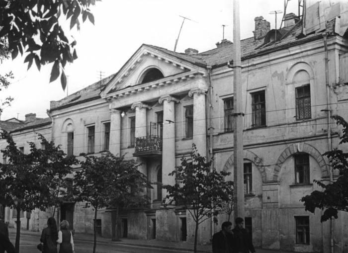 Здание бывшей губернской типографии. Снимок 1950-х годов. Фото предоставлено Виктором Борисенковым