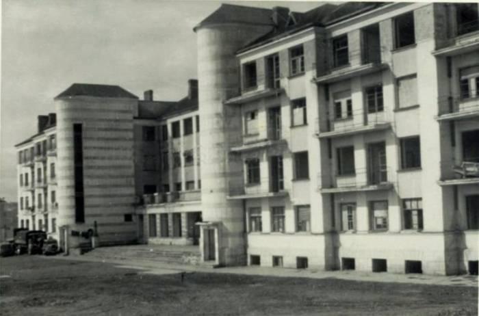 Дом-коммуна в июле 1941 года. Фото evitebsk.com
