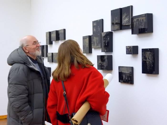 Посетители выставки «Тройной портрет». Фото Светланы васильевой