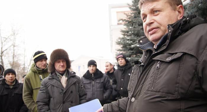 Самый известный «тунеядец» Александр Семёнов. Фото: Алёна Германович, БелаПАН