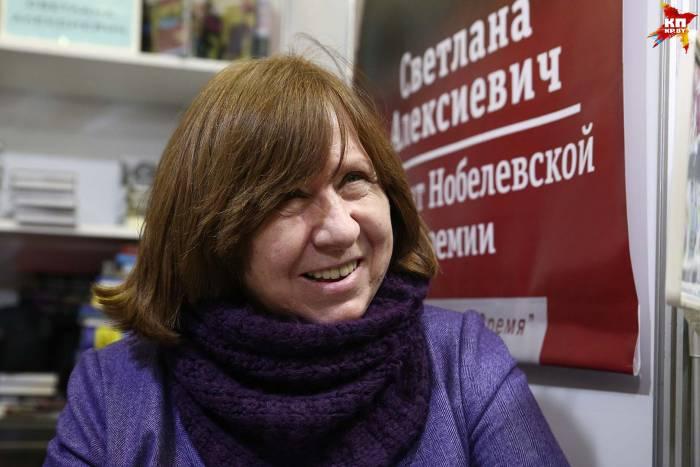 Ольга Карач: «Светлана Алексиевич умеет ставить вопросы, которые человек себе не хочет задавать»