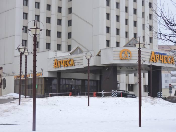 """витебск, гостиница """"Лучеса"""", четыре звезды"""