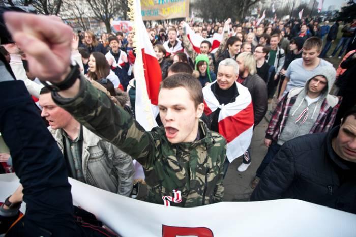 День воли в Минске. Фото: Андрей Макаров, belgazeta.by