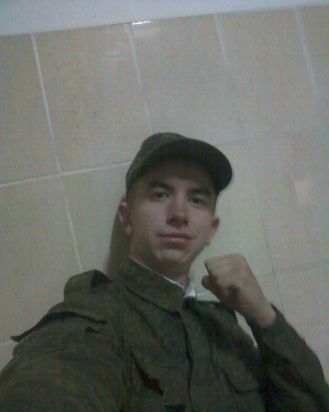Дмитрий Бадах: армейское селфи. Фото из социальных сетей