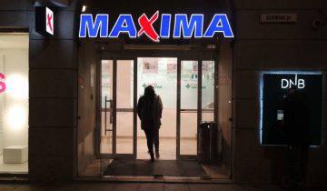 """Магазин """"Maxima"""" в Вильнюсе. Фото Анастасии Вереск"""