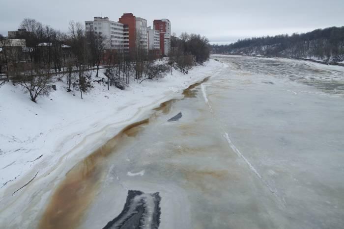 Скоро ли тронется лед? Фото Анастасии Вереск