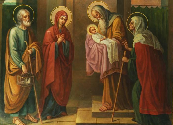 Считается, что именно в этот день младенца Иисуса принесли в храм. Фото hram-sartokovo.ru