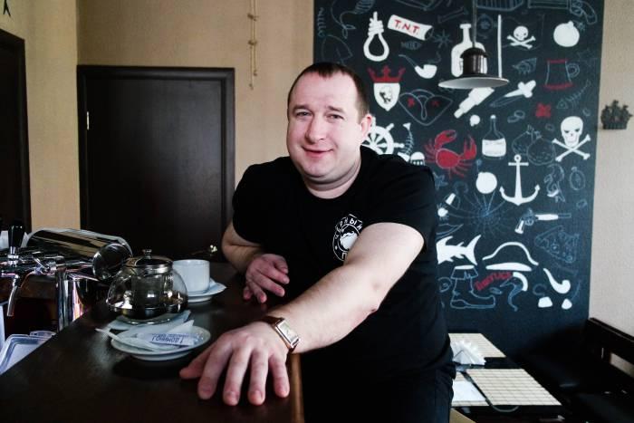 Бармен Андрей. Фото Анастасии Вереск