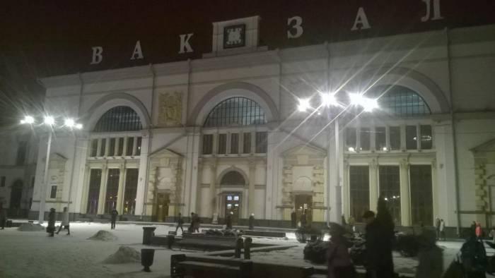 Снято 26 февраля в 20 часов. Фото Ольга Витебская