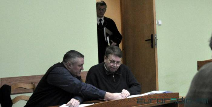Александр Семёнов и Леонид Судаленко. Фото: euroradio.fm