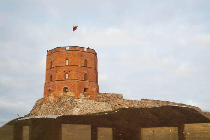 Башня Гедимина - символ Литовского государства. Фото Анастасии Вереск