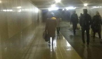 Подземный переход на площади Победы. Фото Анастасии Вереск