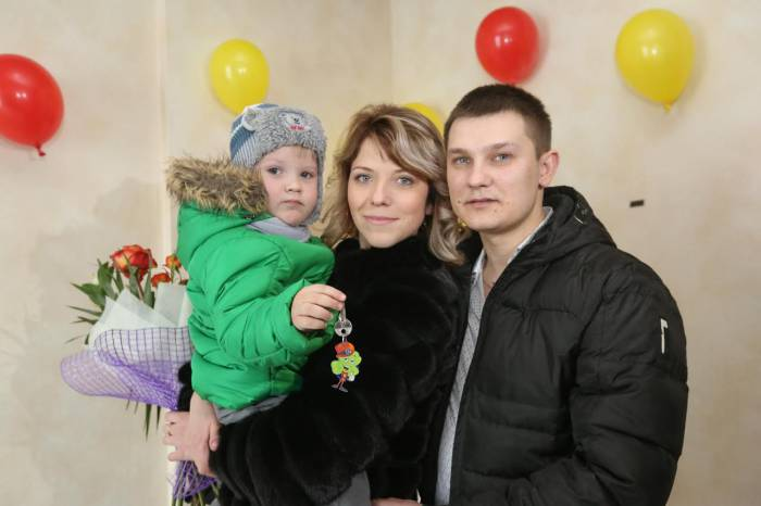 Семья Мирошниковых из Полоцка