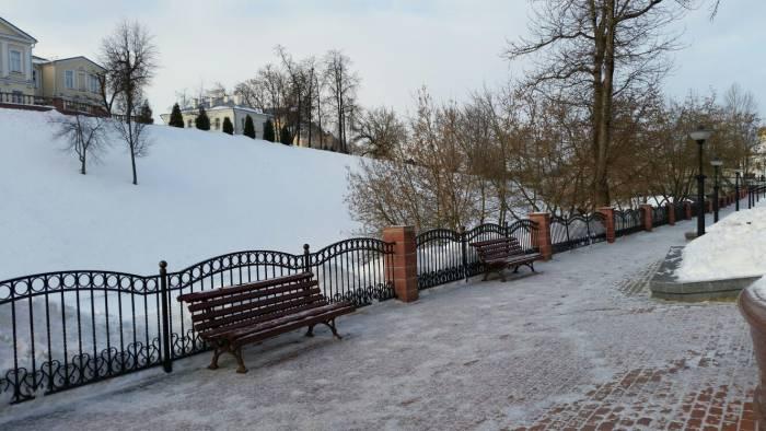Витебские лавочки воспоминаний. Фото: Аля Покровская