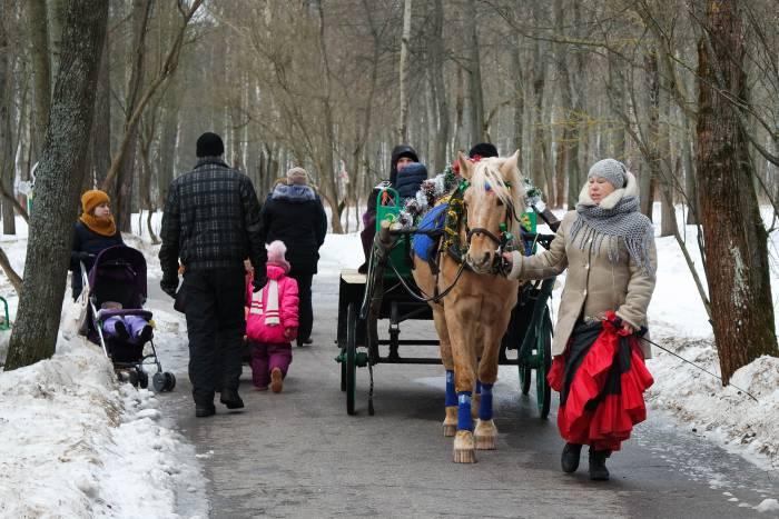 Катание на лошадях. Фото Анастасии Вереск