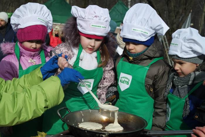 Детское кулинарное шоу. Фото Анастасии Вереск
