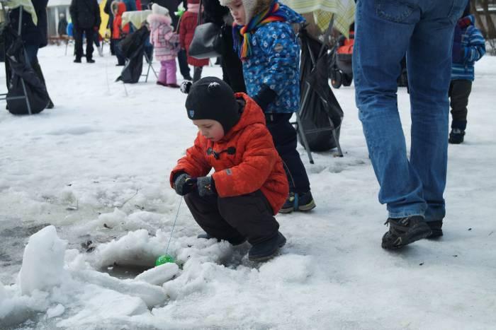 Маленький рыбак. Фото Анастасии Вереск