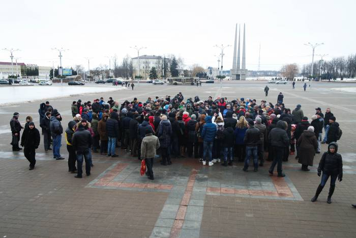 Люди собрались вместе, чтобы высказаться. Фото Анастасии Вереск