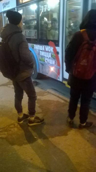 Что такое мороз -20 для горячих витебских парней? Фото Анастасии Вереск