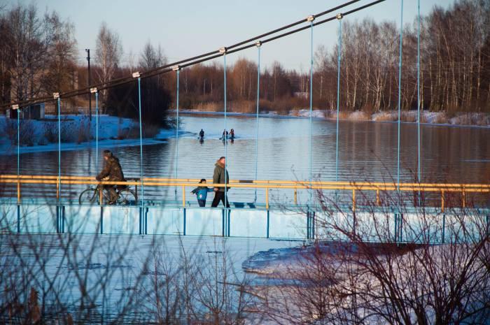 Погода на Сретение выдалась теплой. Фото Анастасии Вереск