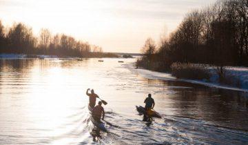 На канале в Новолукомле. Фото Анастасии Вереск