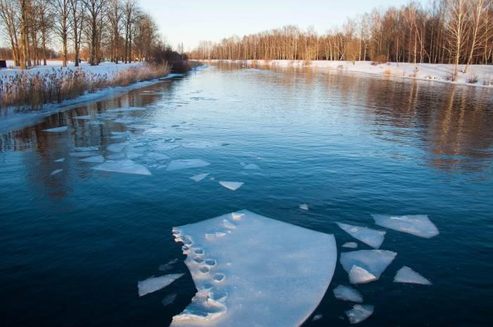 Лед уже тронулся. Фото Анастасии Вереск