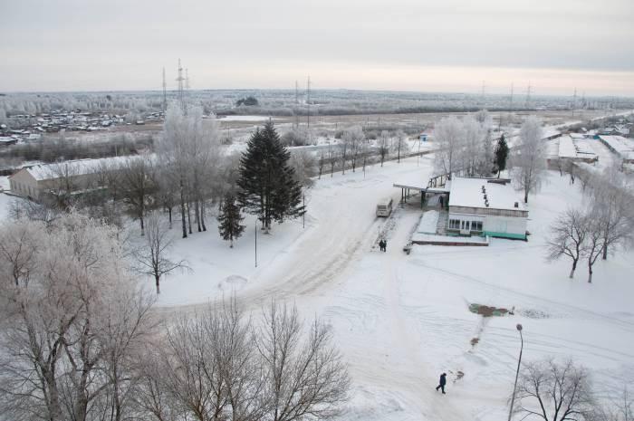 Автостанция в Новолукомле. Фото Анастасии Вереск