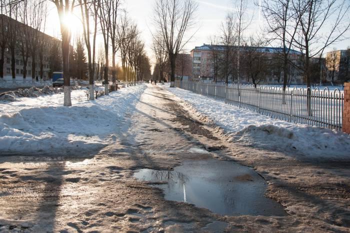 Оттепель. Фото Анастасии Вереск