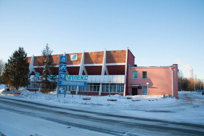 Спортивный комплекс в Новолукомле. Фото Анастасии Вереск