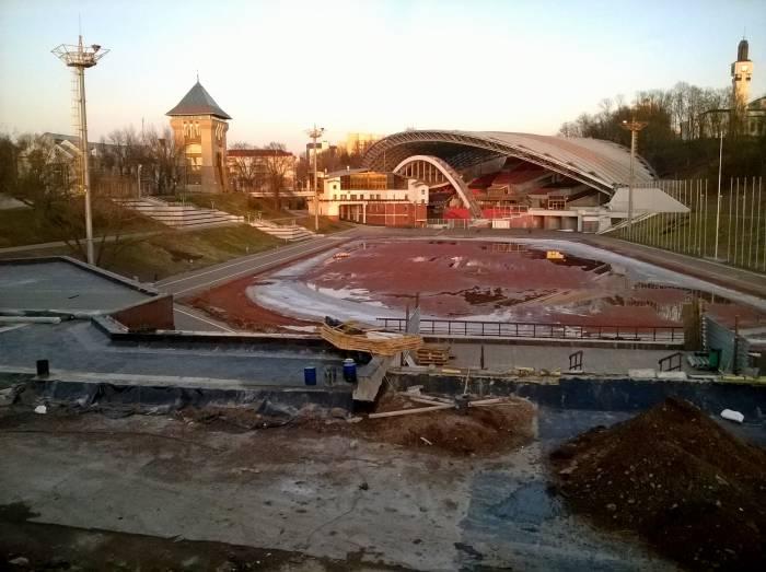 Реконструкция Летнего амфитеатра. Фото Светланы Васильевой
