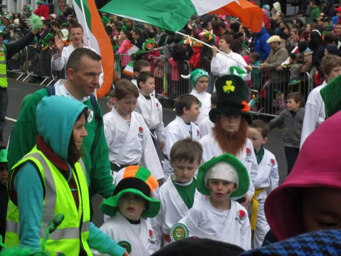 Парад в честь Дня святого Патрика в Корке, 2014 год. Фото из личного архива Марии