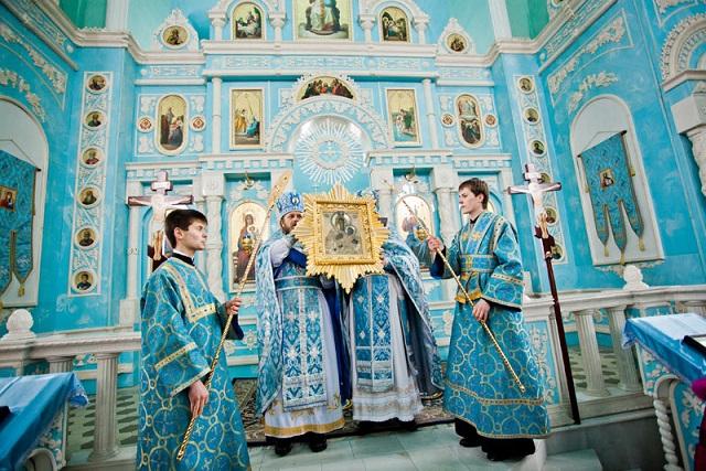 6 марта (в високосный год 5 марта) почитают икону Богоматери Козельщанской. Фото svt-aleksiy.ru