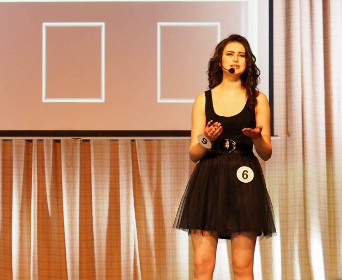 Наталья Каменщикова (ВГТУ) - Мисс «Креатив». Фото Светланы Васильевой
