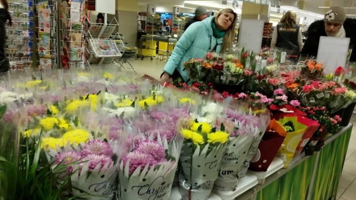 Цветы в горшках - тоже отличный подарок. Фото: Аля Покровская