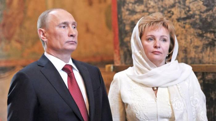 Владимир Путин с супругой. Фото: diwis.ru