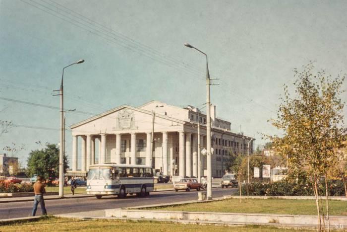 Театр Якуба Коласа в начале 80-х годов. Фото evitebsk.com