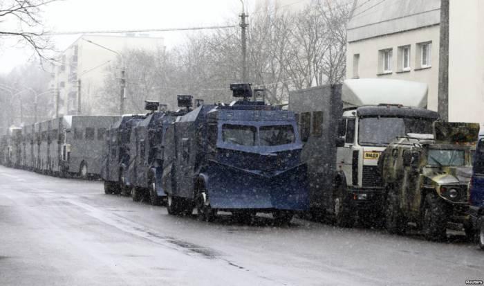 Спецтехника поехала домой. Фото: svaboda.org