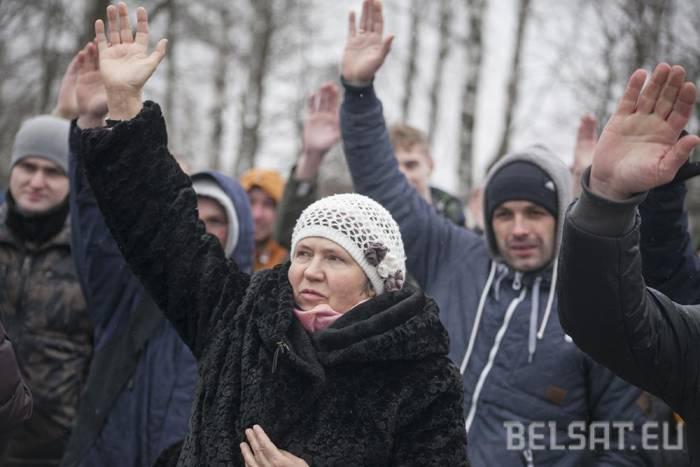 День воли в Гродно. Фото: belsat.eu