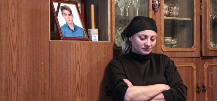 Мама погибшего подростка Татьяна. Фото: Юрий Пивоварчик, intex-press.by