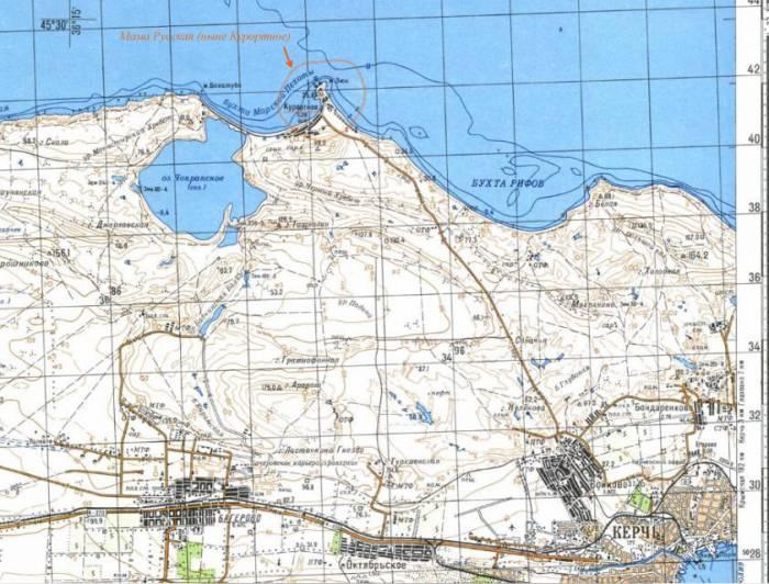 Место выброски Барановского (р-н Курортное)