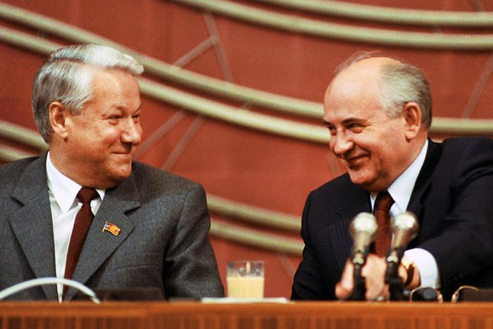 Михаил Горбачёв и Борис Ельцин. Фото: ria.ru