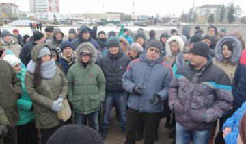Февральский митинг в Витебске. Фото Ольга Витебская