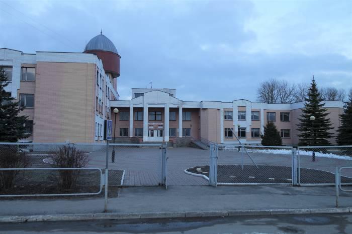 Школа в агрогородке Новка. Фото Анастасии Вереск