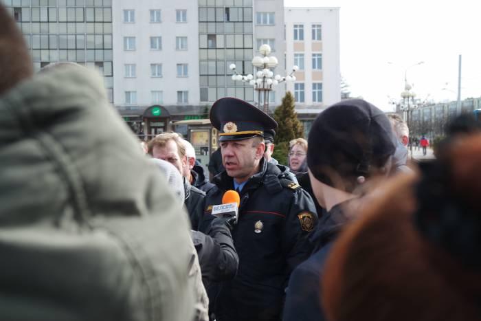 Начальник УВД Калиновский Александр Васильевич. Фото Анастасии Вереск