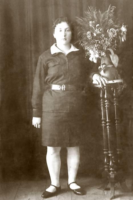 Веренева Анна (жена Барановского). Фото предоставлено Виктором Алешиным