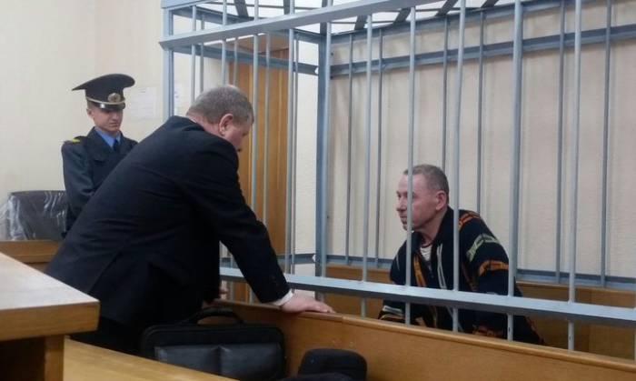 Виктор Русак в суде. Фото: Катерина Борисевич, tut.by